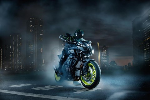 Yamaha MT-10 Test