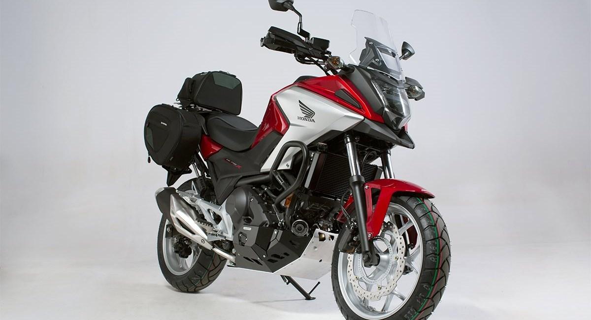 Dauerbrenner Honda NC750X mit brandneuem Zubehör von SW-MOTECH