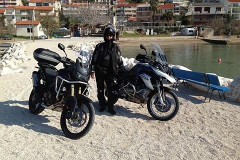 Honda Africa Twin und BMW R 1200 GS Kroatien-Trip 2016