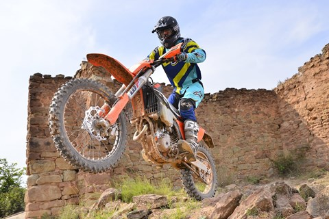 KTM EXC 2017 Enduro Test