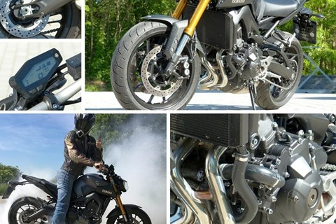 Yamaha MT-09 2016 Test