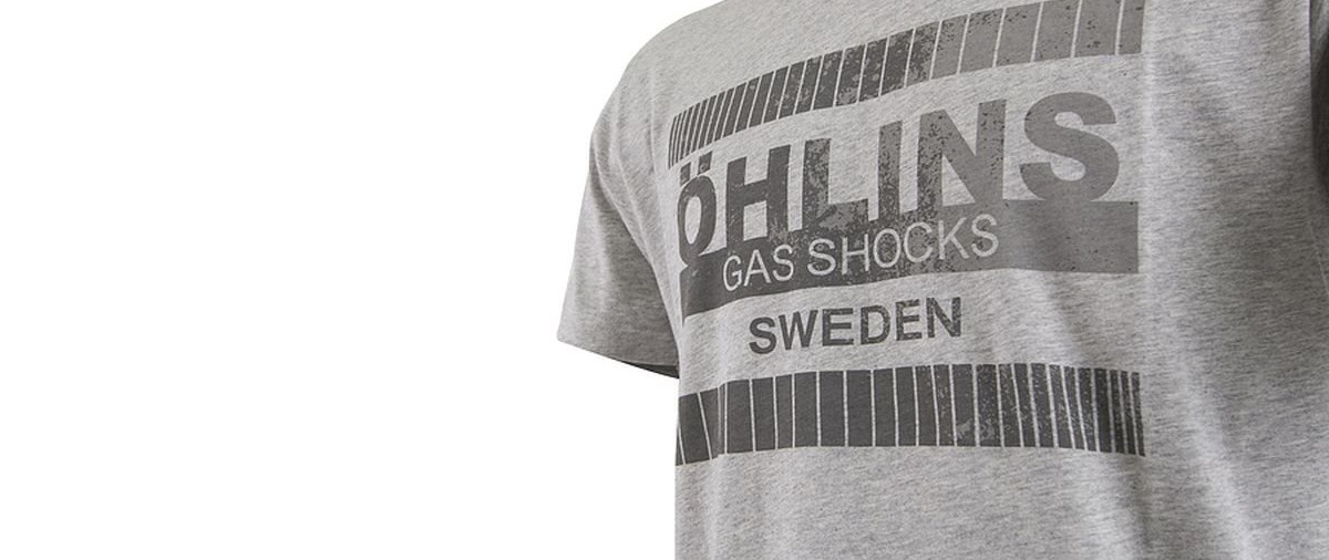 Gratis Retro-Shirt bei Kauf eines  BMW Stossdämpfersets von Öhlins