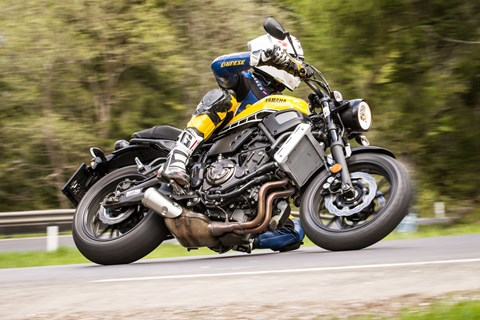 Motorrad-Quartett:Yamaha XSR700 Test