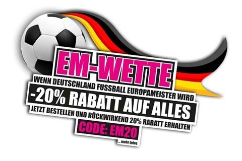 Helmexpress startet große Rabattaktion zur Fußball-EM