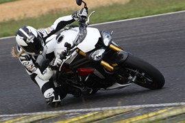 Triumph Speed Triple R Pannoniaring 2016