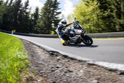 Motorrad-Quartett: BMW S 1000 XR Test