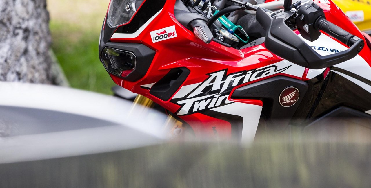Motorrad-Quartett: Honda CRF1000L Africa Twin Test