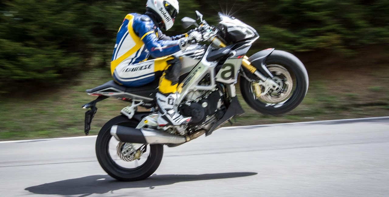 Motorrad-Quartett: Aprilia V4 1100 RR Test