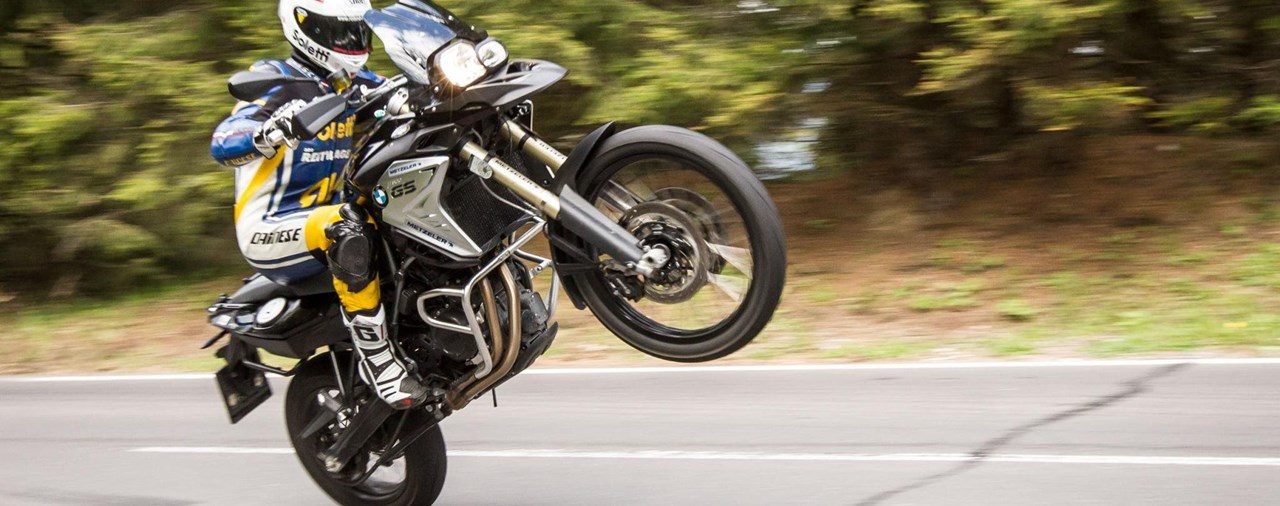 Motorrad-Quartett: BMW F 800 GS Test