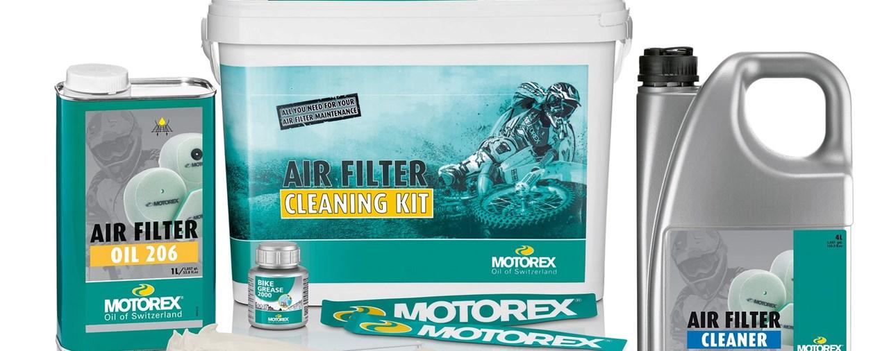 Relaunch der Motorex Produkte für die Wartung von Luftfiltern