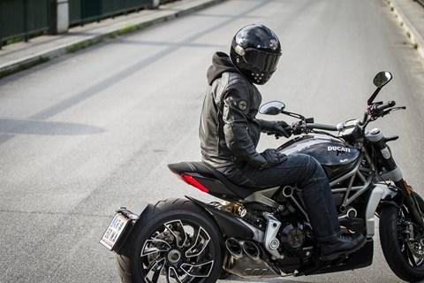 Ruby Castel St Germain Retro-Motorradhelm