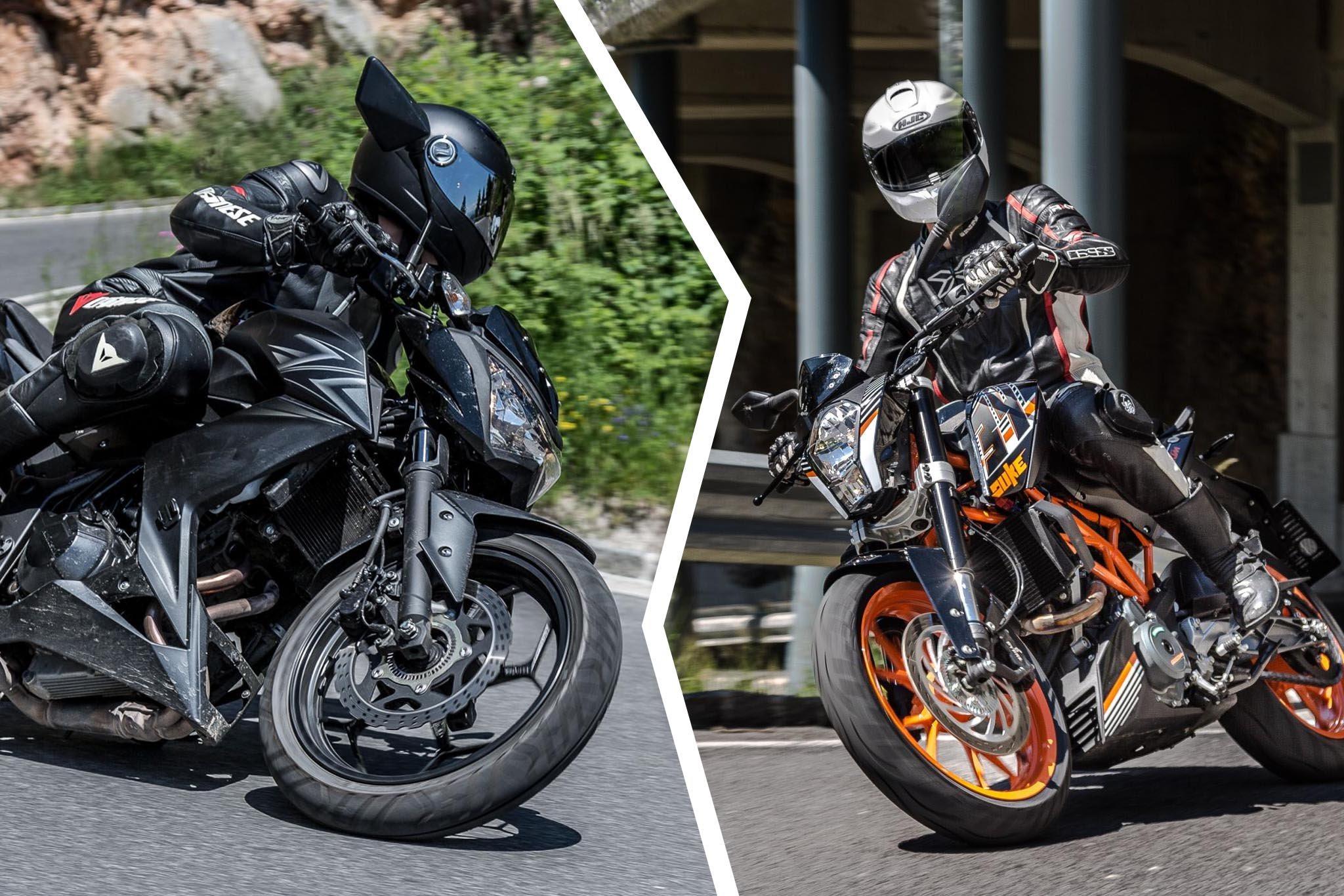 A2 Nakedbike Einsteigermotorrad 48 Ps Testbericht