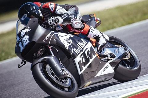 Motorex technischer Partner des KTM Moto GP Projekts