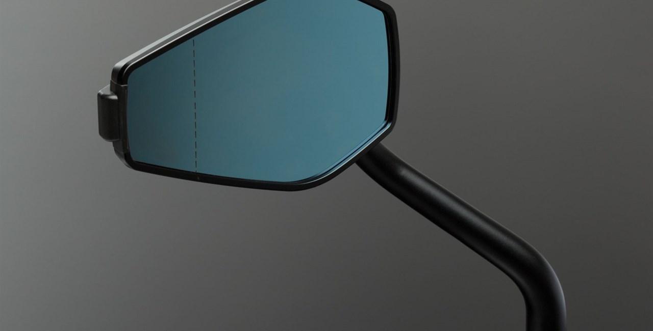 ABM Spiegel mit austauschbarem Kratzschutz  am Gehäuse