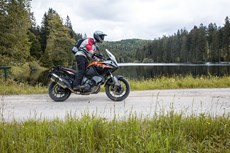 Schottertour: KTM 1050 Adventure Test  2016