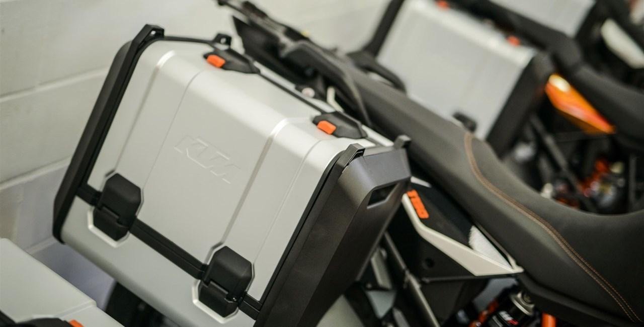 Neuer Kofferträger für KTM Adventure-Modelle