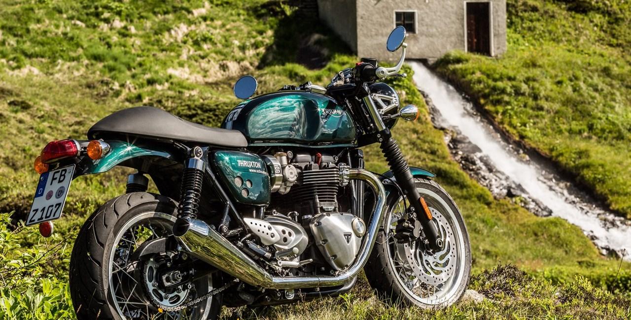 Retrobikes in den Alpen: R nineT, Thruxton und Street Twin