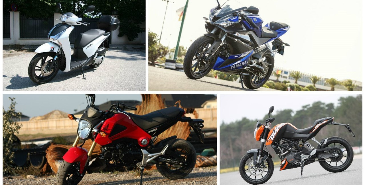 125er Motorräder für jedes Budget