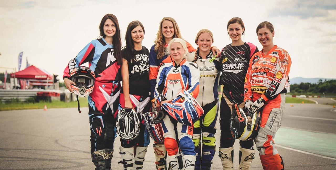 KTM Girls geben am Wachauring ordentlich Gas!