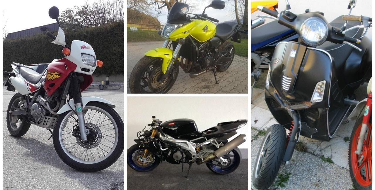 Motorräder für Bastler in der 1000PS Gebrauchtbörse