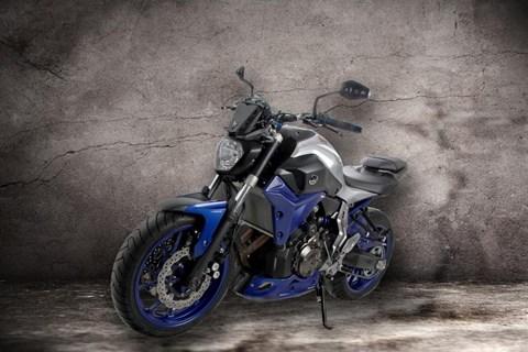 Neue Teile von ABM für die Yamaha MT-07