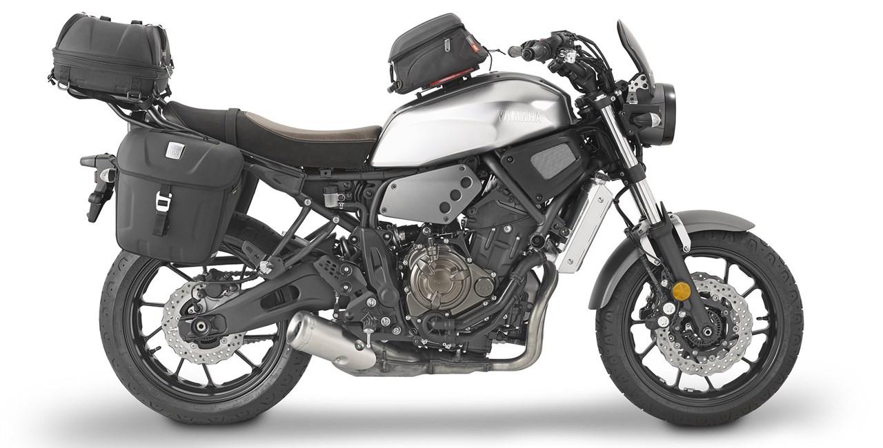 Neue GIVI Produktpalette für die Yamaha XSR700