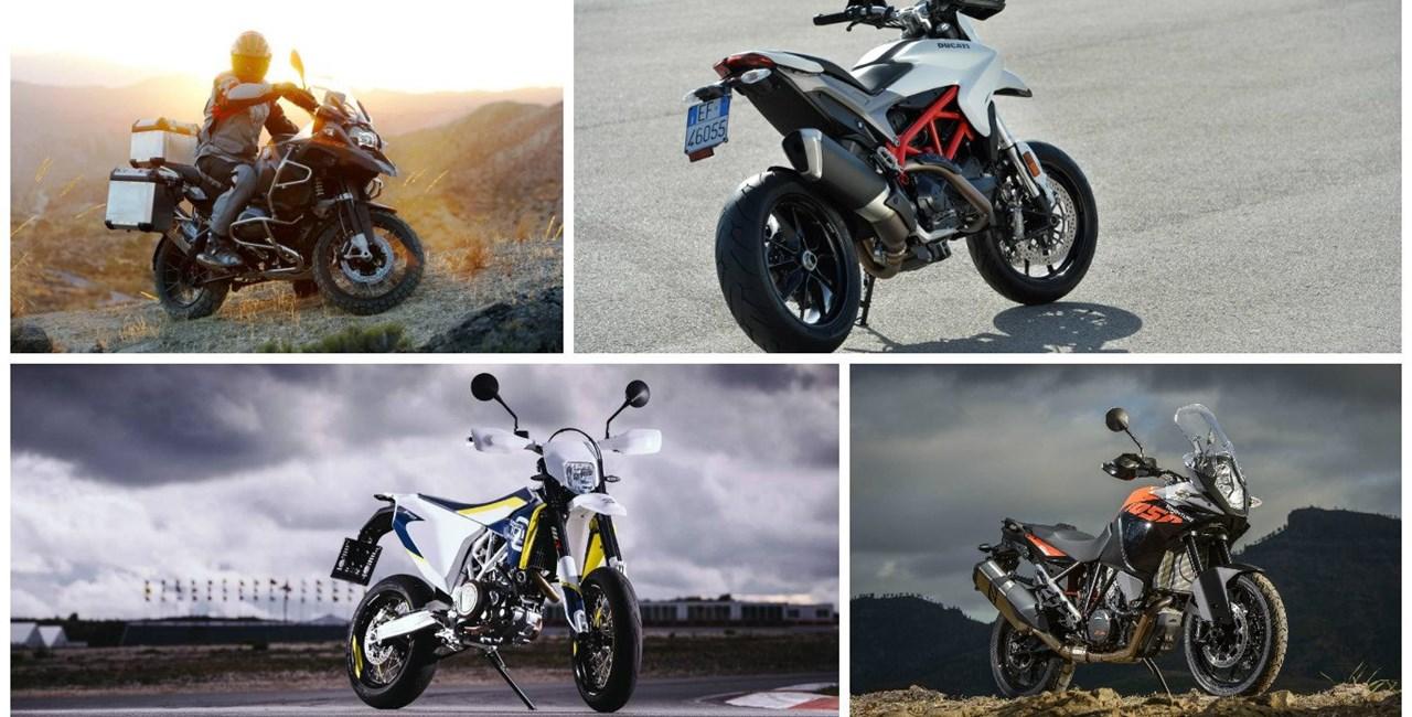 Die Top-Motorräder für große Leute