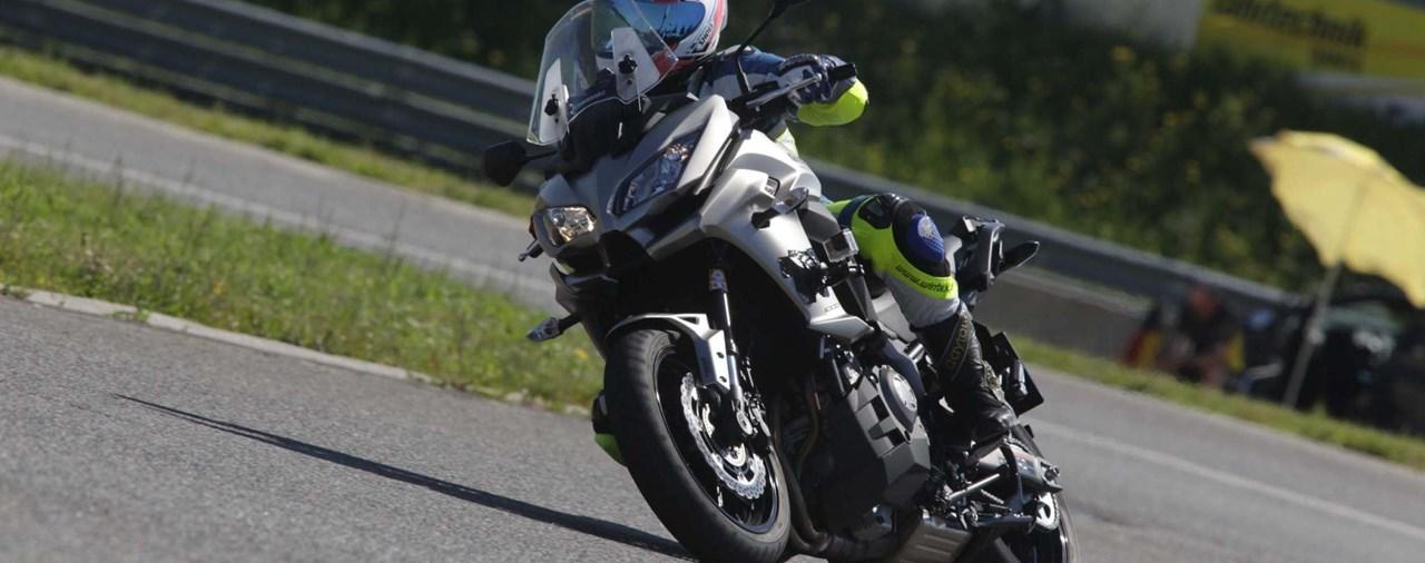 Big-Enduro Melken 2016: Kawasaki Versys 1000