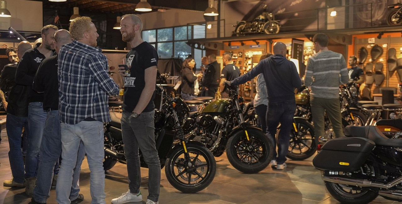 "Let's get together - Harley-Davidson ""Open House"""
