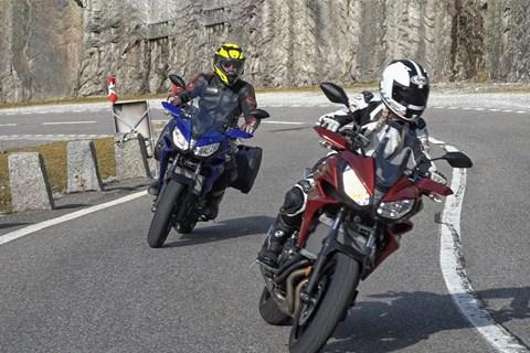 Yamaha Tracer 700 Test in den Schweizer Alpen
