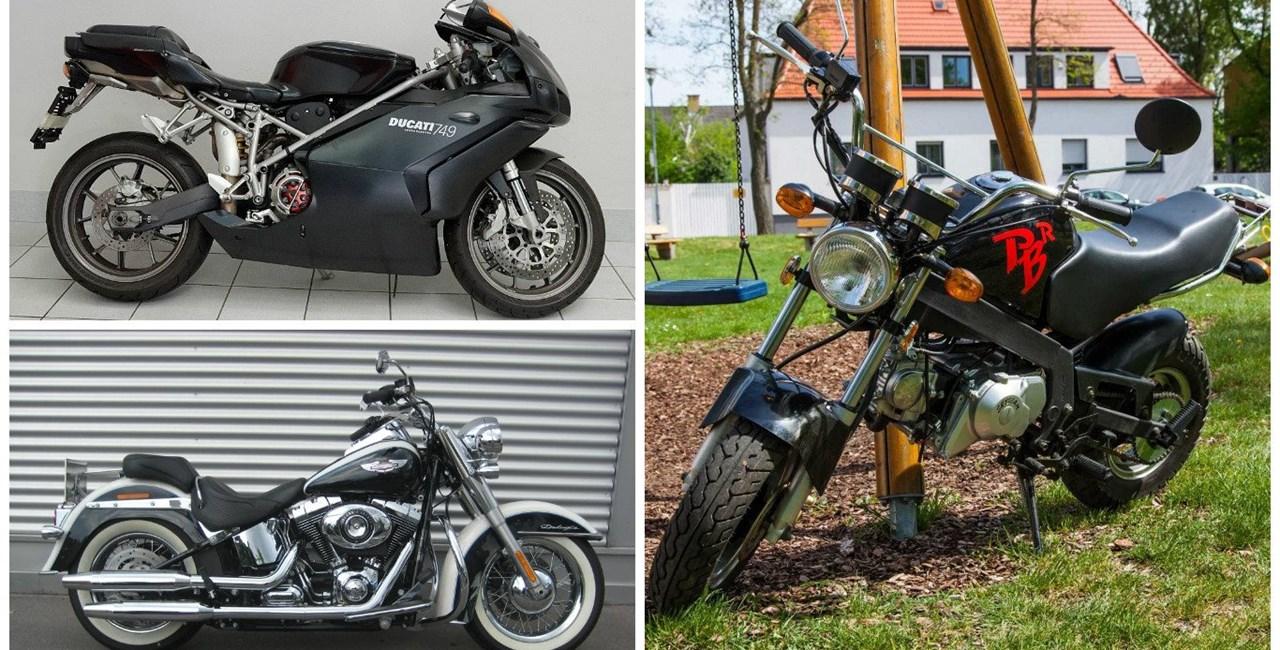 Motorräder für kleine Leute auf 1000PS