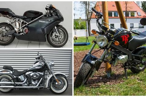 motorrad berichte zum thema gebrauchtmotorrad minibericht. Black Bedroom Furniture Sets. Home Design Ideas