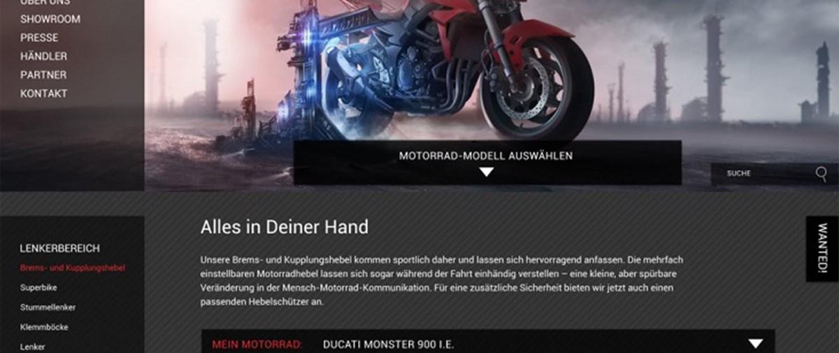 Der neue Online Shop von ABM