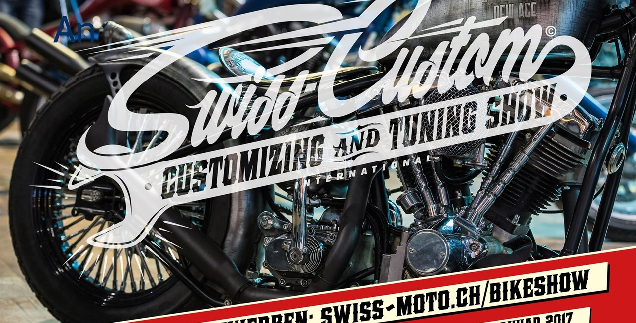 Customizing & Tuning Show SWISS-CUSTOM 16. bis 19. Februar 2017