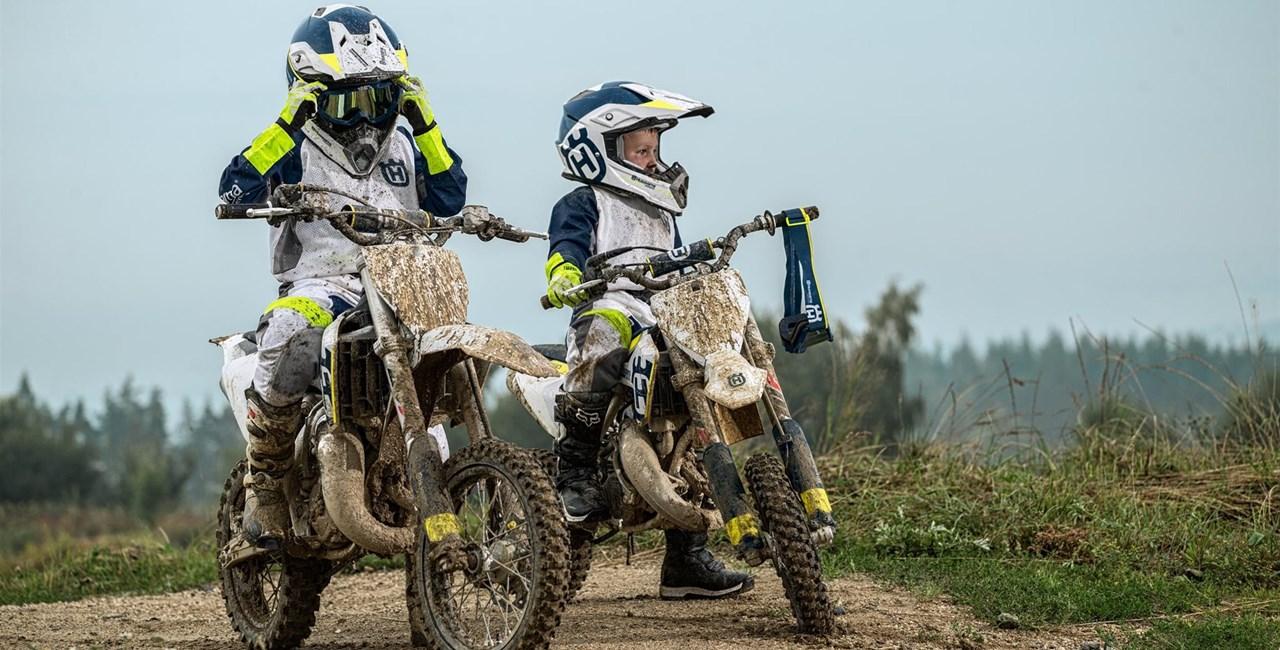 Husqvarna präsentiert neue TC 50 & TC 65 Motocross-Modelle