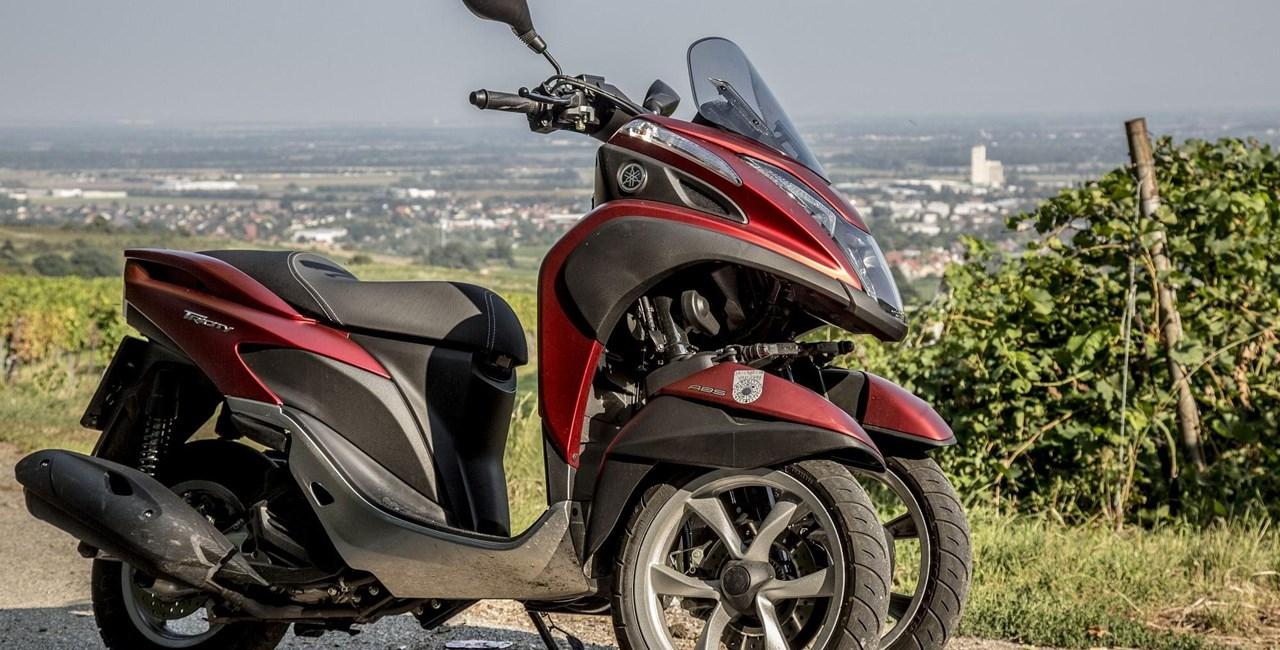 Rollervergleich 2016: Yamaha Tricity