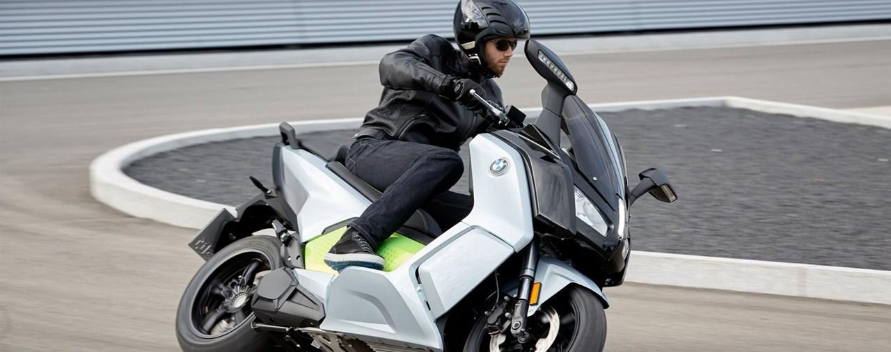 Neuer BMW C evolution 2017