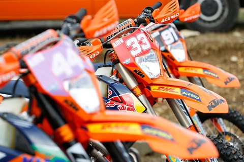 KTM Factory Enduro Test