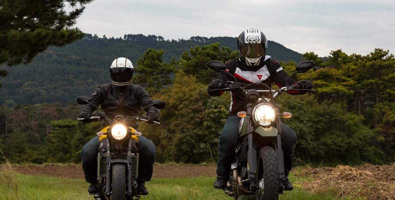 Ducati Scrambler Urban Enduro vs. Yamaha XSR 700  Test 2016 Video