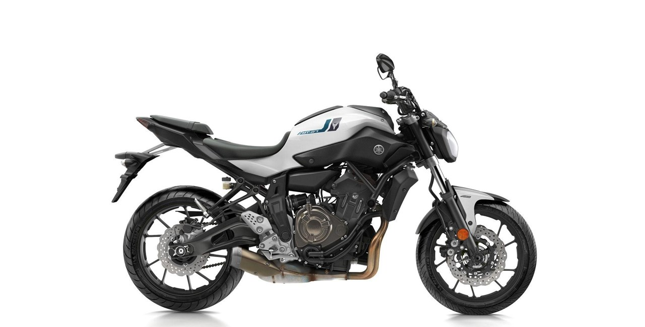 Yamaha MT-07 2017 - Neue Farben