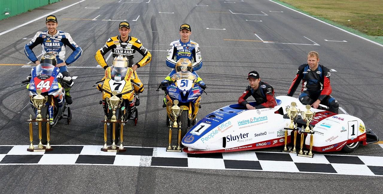 Dreifacher Titelgewinn in der Superbike*IDM