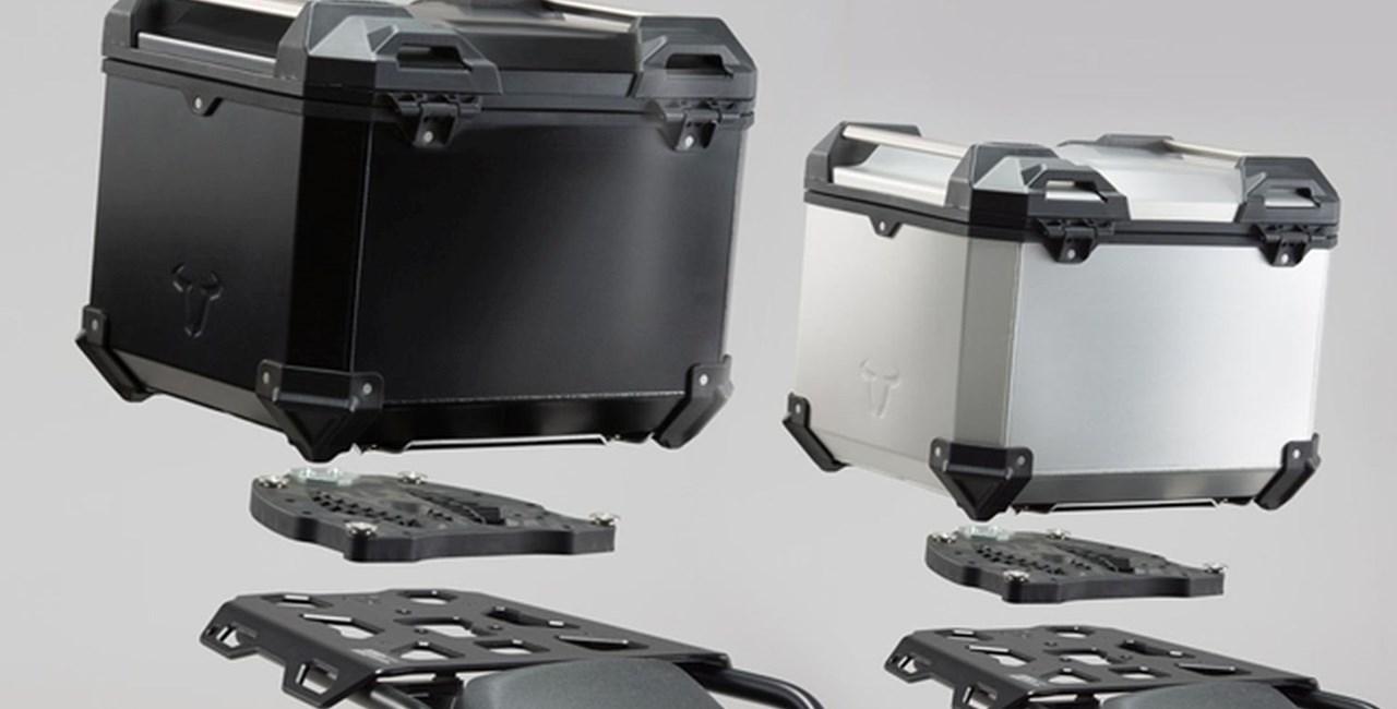 SW-Motech Komplettlösung für das Heck: TRAX ADV Topcase-System
