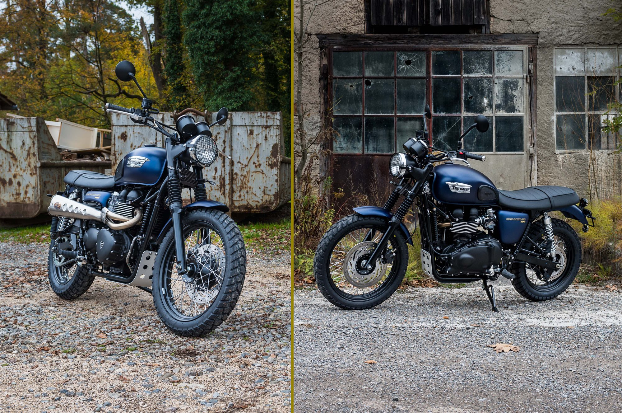 "Triumph Scrambler ""M91 final edition"" Foto"