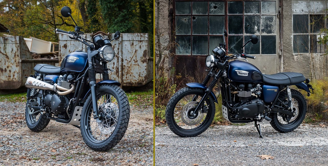 "Triumph Scrambler ""M91 final edition"""