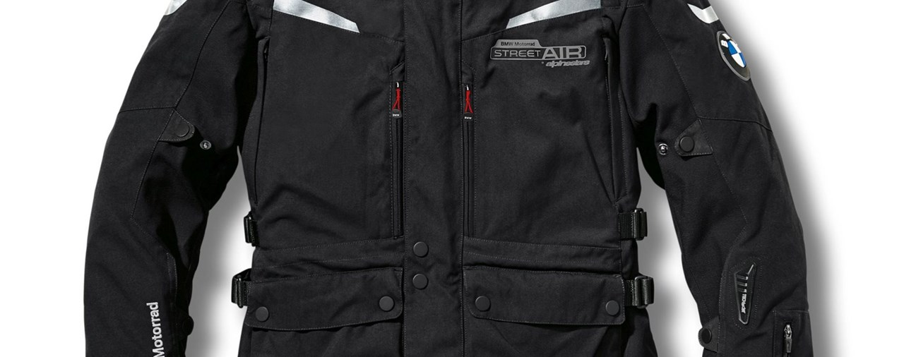 BMW Airbag-Jacke Street Air Dry by Alpinestars