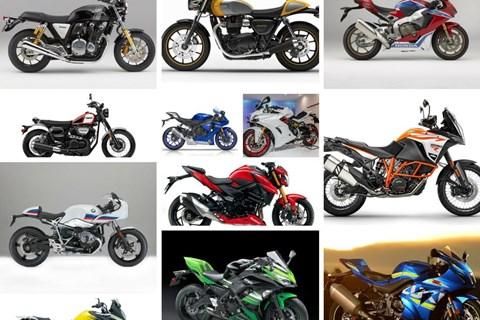 Die besten Motorräder 2017