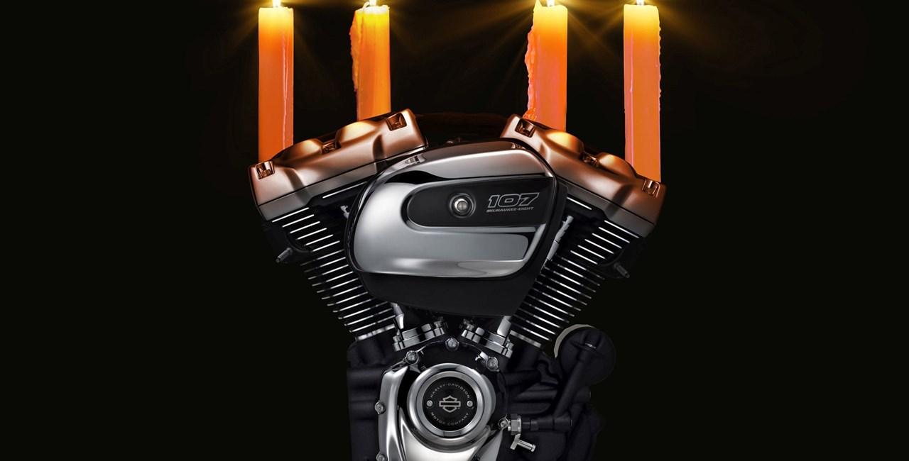 Hilfe, es weihnachtet sehr - Harley Davidson Weihnachtsshopping