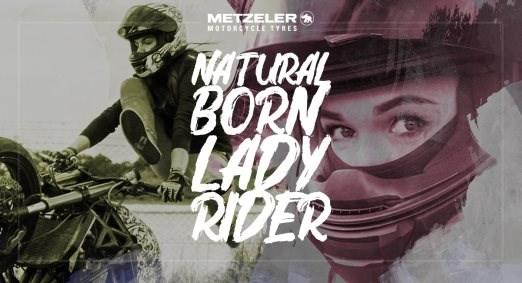 METZELER startet die Kampagne NATURAL BORN LADY RIDER