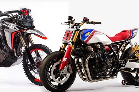 Honda CB1100 TR und Africa Twin Enduro Sport