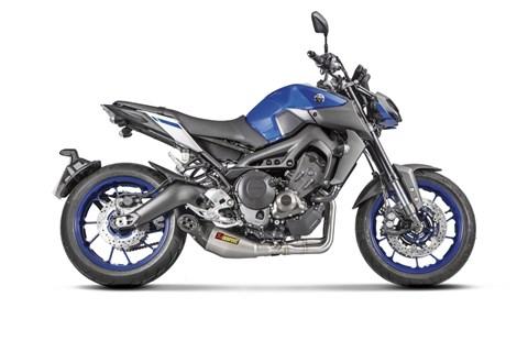Akrapovic für Yamahas MT-09, Tracer 900 und XSR900